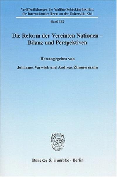 Die Reform der VN